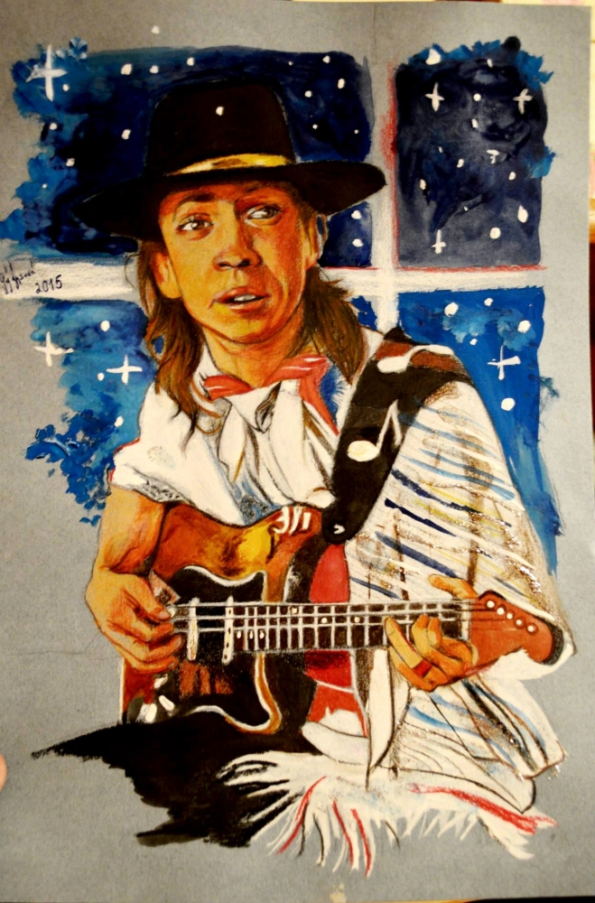 Stevie Ray Vaughan by lilie1111